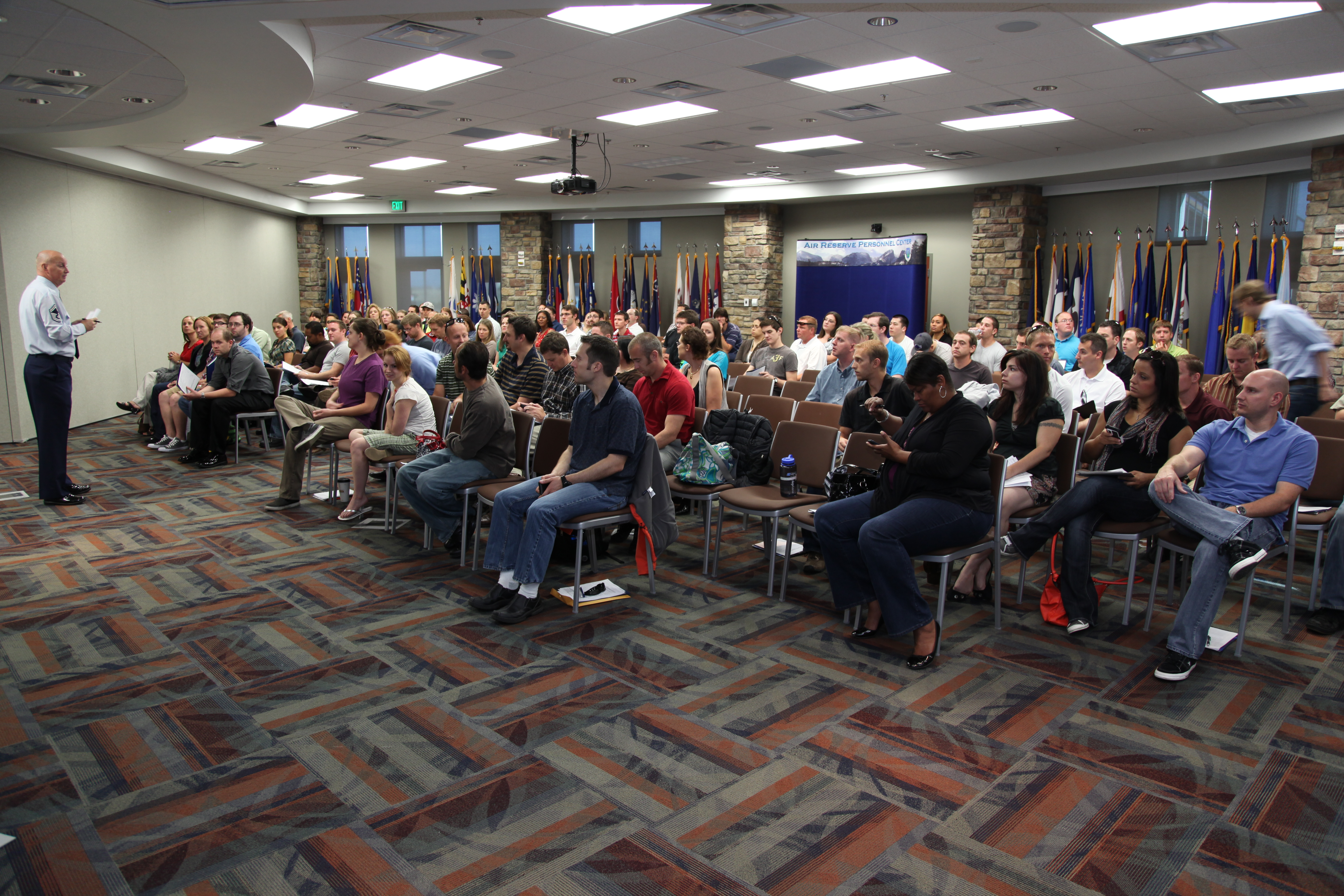 ARPC hosts IRR muster > Air Reserve Personnel Center