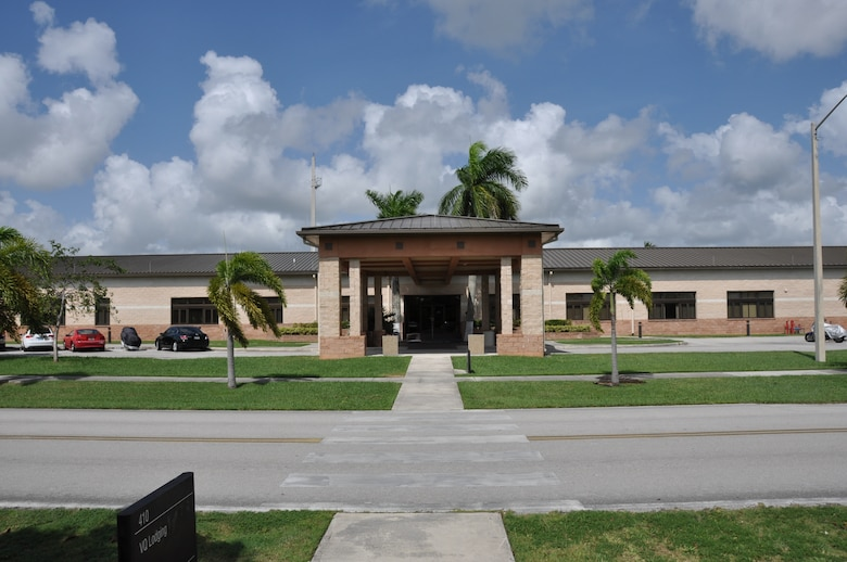 482nd Fighter Wing Headquarters Building, Homestead Air Reserve Base. (U.S. Air Force photo/Ross Tweten)