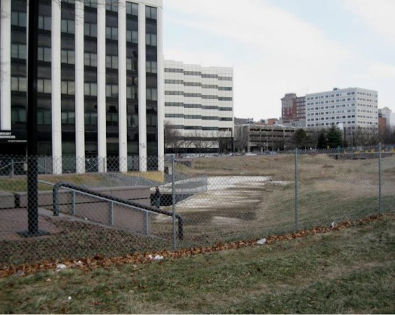 The Broad Street culvert in Trenton, NJ is part of an environmental restoration project. The Army Corps of Engineers Philadelphia District has partnered with the city for the project.