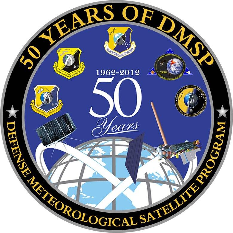 DMSP 50th Anniversary Logo