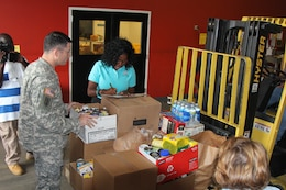 The Charleston District donated 500 lbs of non-perishable food to the Lowcountry Food Bank.