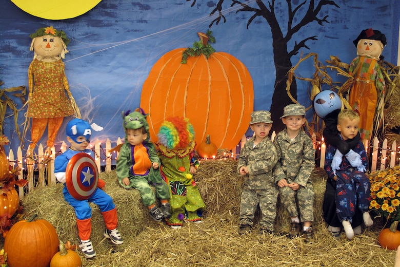 More than 300 people attended the fall festival held by the McEntire Family Readiness group, Oct. 27. Swamp Fox members and their families showed up in costume and enjoyed several activities including a hayride, costume contest, face painting and other fun activities. Several squadrons decorated their building for the hayride and from those, the kids voted the Fire Department as their favorite stop. Family Readiness would like to thank everyone that volunteered and came out to support this year's festival, making it a huge success.