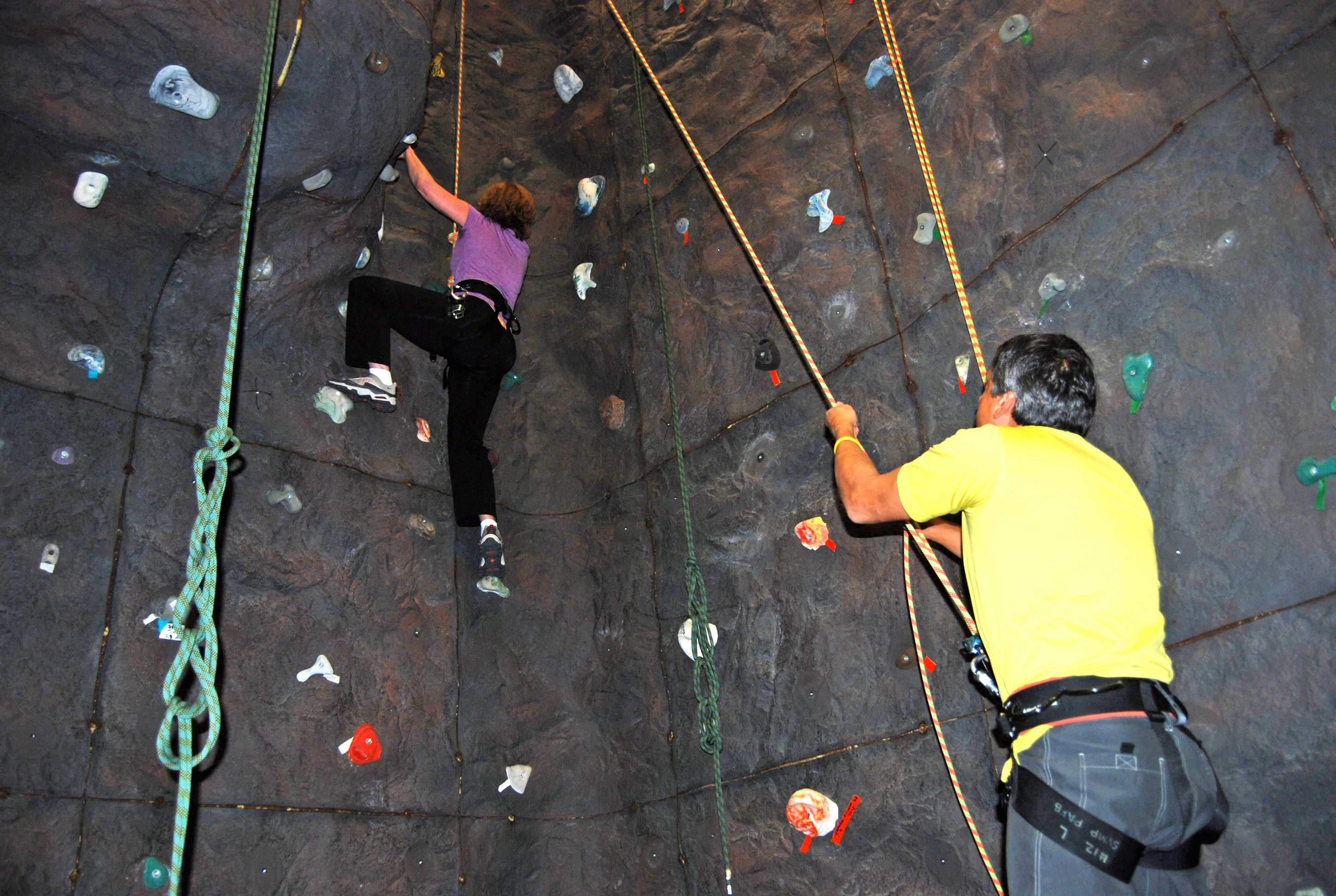 Climbing the walls > Peterson Air Force Base > News of the 21st ...