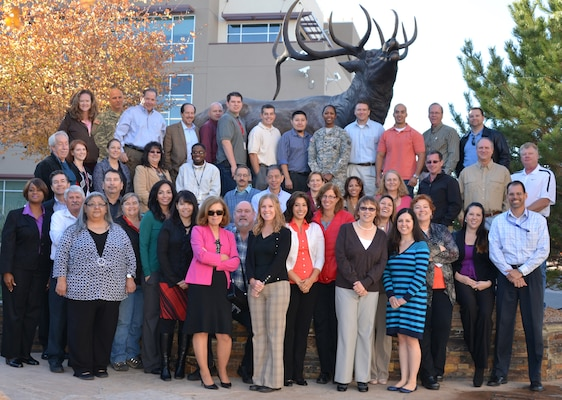 A team of 43 employees representing all levels within the District gathered for three days at the Forest Service Training Academy in Albuquerque, N.M., for a strategic planning session.
