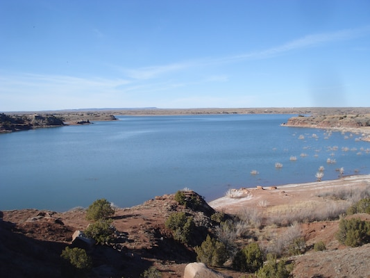 Scenic Ute Lake is located in Quay County, N.M.
