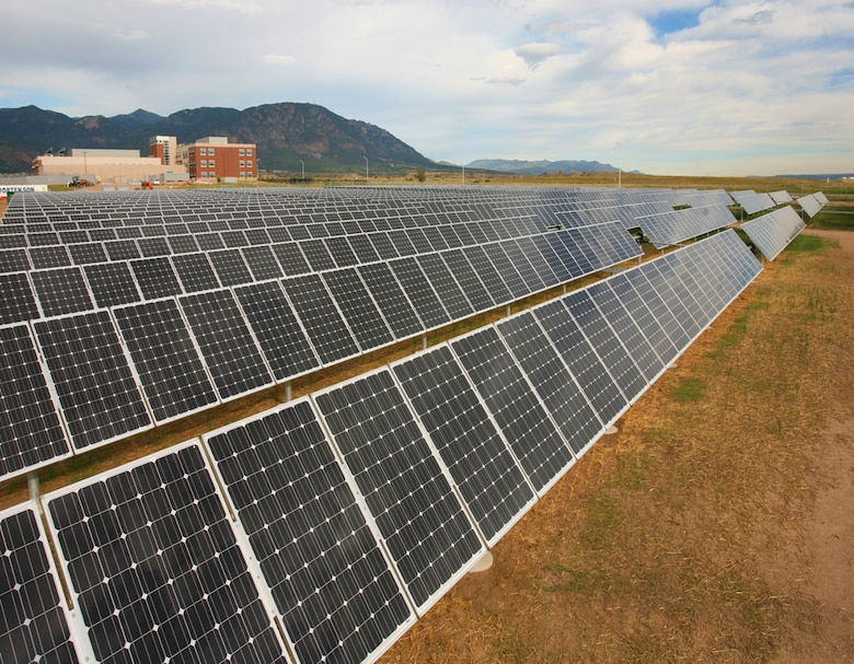The 4th Infantry Division's 4th Brigade and Battalion Headquarters on Wilderness Road received the first U.S. Green Building Council Leadership in Energy and Environmental Design platinum certification for Fort Carson, Colo. Contributing to the facility's energy efficiency is the 2.7-acre, onsite solar array, which supplies approximately 62 percent of the 138,000-square foot building's electrical power needs.