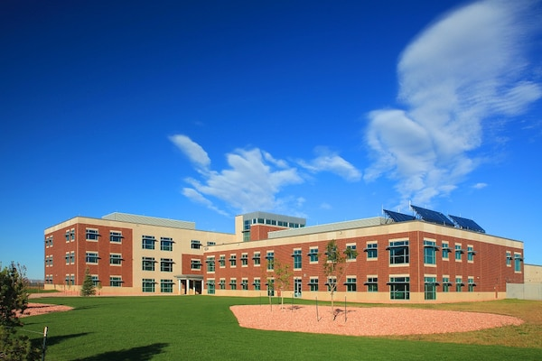 The 4th Infantry Division's 4th Brigade and Battalion Headquarters on Wilderness Road received the first U.S. Green Building Council Leadership in Energy and Environmental Design platinum certification for Fort Carson, Colo. in April 2012.