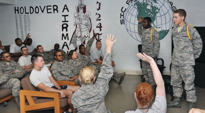 New program helps develop holdover Airmen at BMT > U S  Air