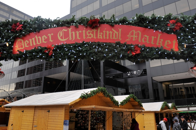 DENVER – The 12th annual Denver Christkindl Market kicked off the holiday season in downtown Denver Nov. 28, 2012, at Skyline Park. The market is open 11 a.m. to 7 p.m. Sunday through Wednesday and 11 a.m. to 9 p.m. Thursday through Saturday. It is located on the corners of 16th and Arapahoe Streets. (U.S. Air Force photo by Airman 1st Class Riley Johnson)