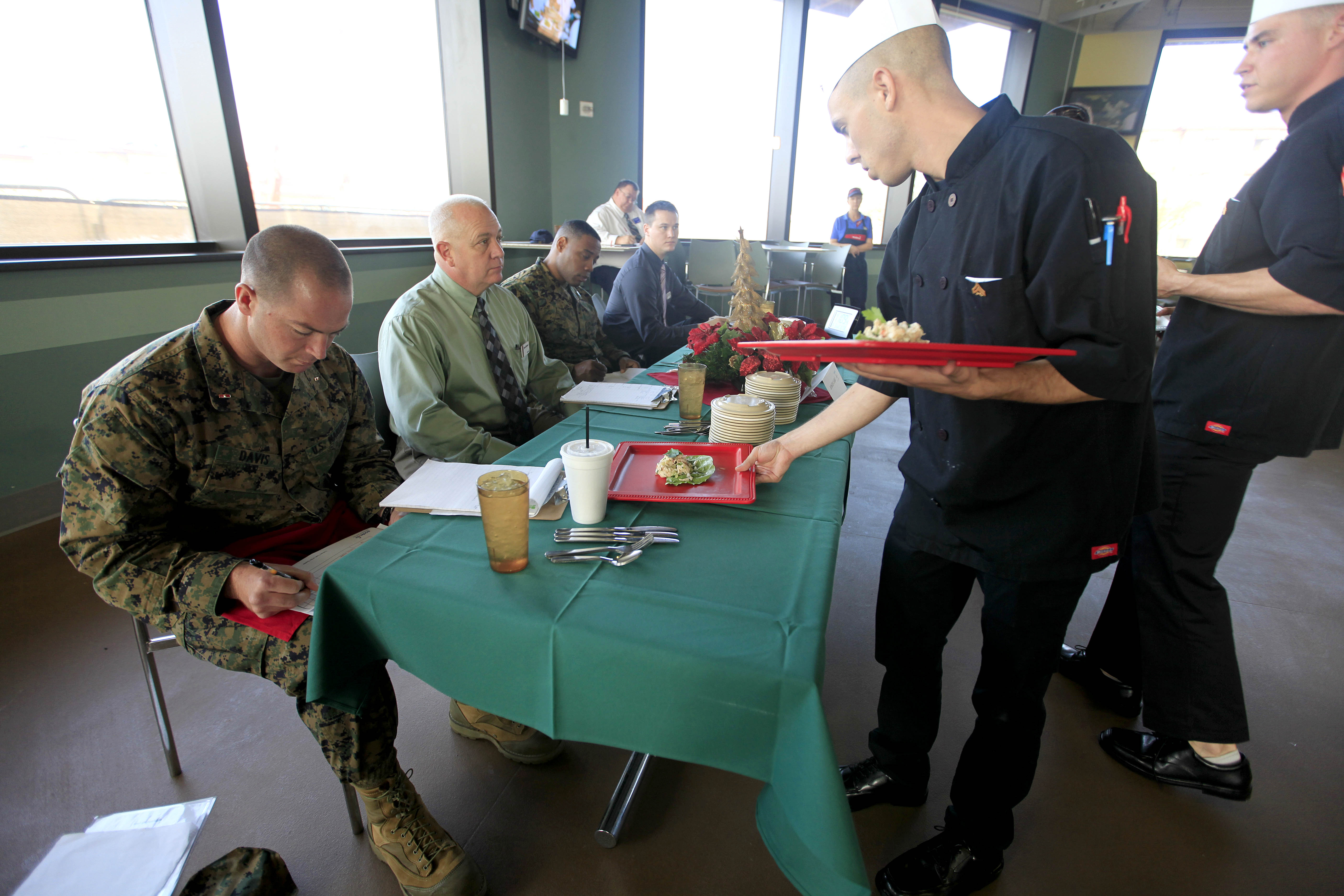 Cooks stir up cuisine at quarterly competition > Marine Corps Base ...
