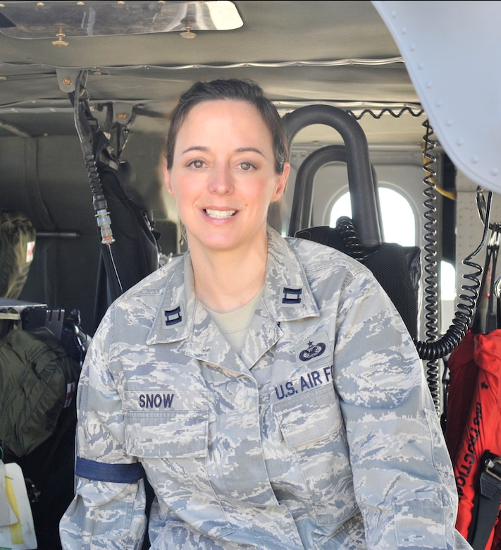 Public affairs officer, Capt. Cathleen Snow, 920th Rescue Wing, Patrick Air Force Base, Fla., has been assigned as the 920th RQW chief of public affairs since Nov. 1 2005. (U.S. Air Force photo/2nd Lt. Leslie Forshaw)