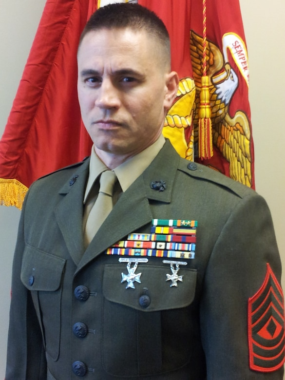 First Sergeant Golf Battery 3rd Battalion 14th Marine Regiment Marine Corps Forces Reserve Biography