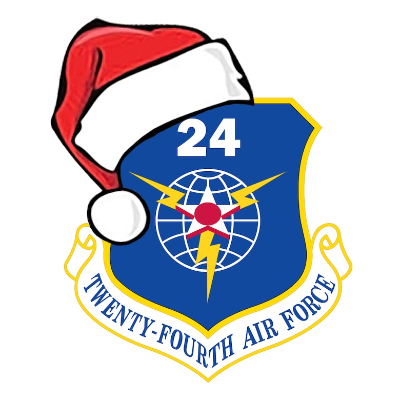 This is a wonderful time of year to be generous with your friends and family, and those charities you deem worthy. Don't let that generosity benefit cyber criminals this year. Happy holidays from the 24th Air Force family to yours! (U.S. Air Force graphic by William Parks)