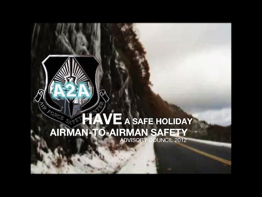 This holiday season, take the time to make the right decision. The 2012 Airman-to-Airman Safety Advisory  Council want you to have fun, stay safe. (U.S. Air Force graphic by Staff Sgt. Lisa Gonzales)
