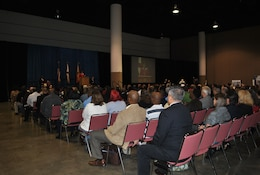 U.S. Secretary of the Navy Ray Mabus and Jacksonville Mayor Alvin Brown kicked off the city of Jacksonville's Veterans Jobs Fair. Jeannie Blaylock of First Coast News was the emcee for the well-attended event.