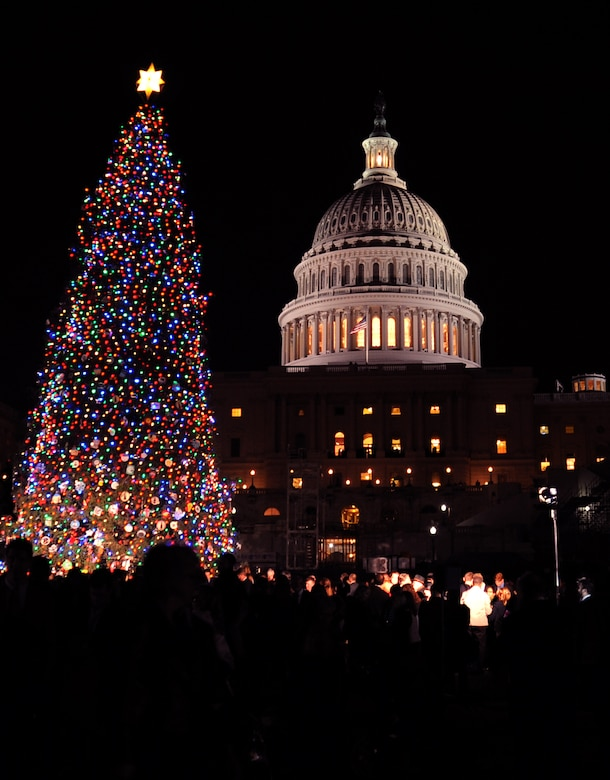 Capitol Christmas Tree.Team Andrews Plays Capital Role In Capitol Christmas Joint