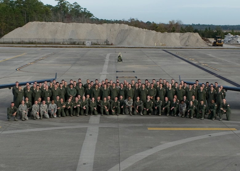 A group photo of the 319th Special Operations Squadron, 1st Special Operations Wing, Hurlburt Field, Fla. taken Dec. 5, 2012. The 319th SOS recently returned from the first-ever unit deployment for the 1st Special Operations Wing. (DoD photo by A1C Hayden Hyatt) RELEASED