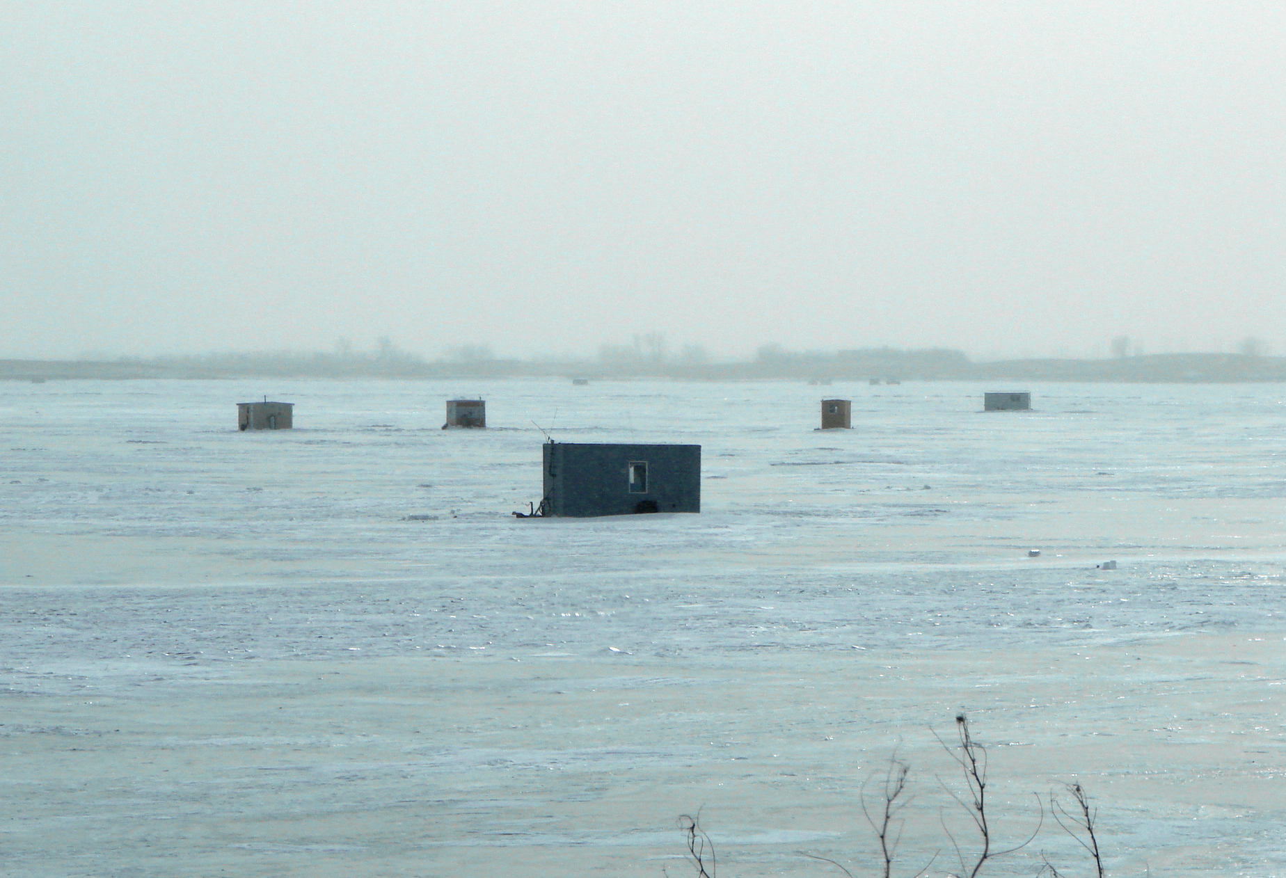 Winter ice access in nd comes with regulations and safety for Lake sakakawea fishing