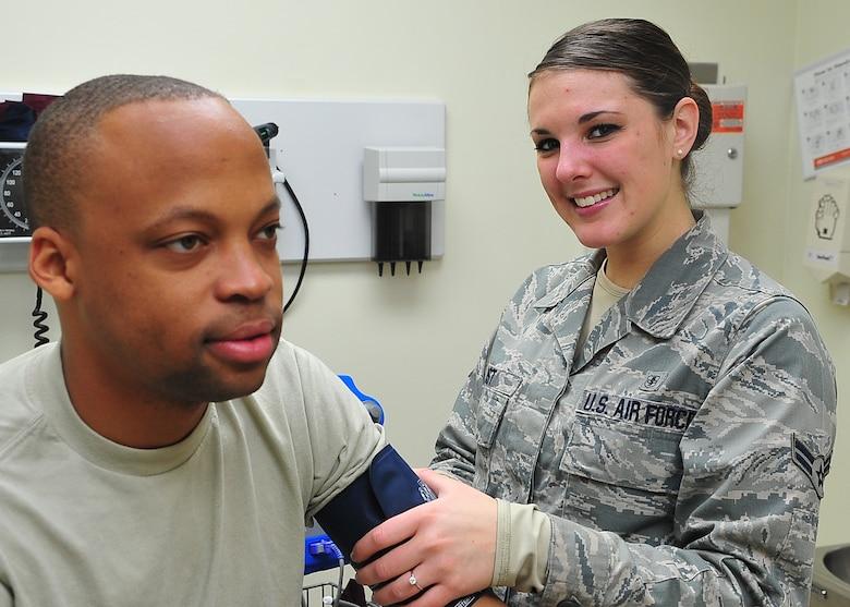 Airman Spotlight: Airman 1st Class Haley Yost, 51st Medical Operations Squadron. (U.S. Air Force photo/Tech. Sgt. Raymond Mills)