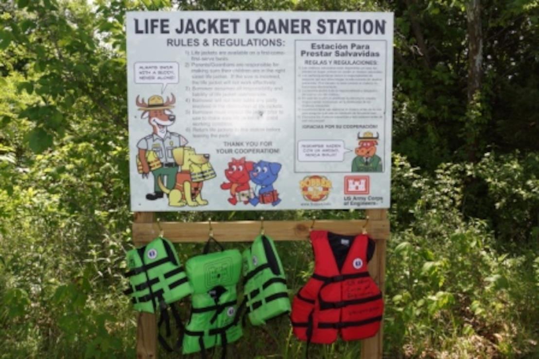 Rathbun Life Vest Loaner Boards