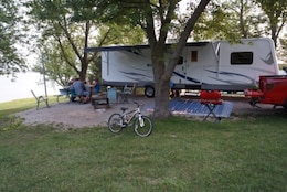 Camping at Buck Creek Park.