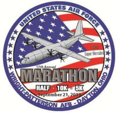 2013 Air Force Marathon patch