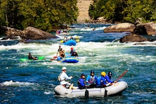 2012 Rafting and Kayaking on Gauley River just below Summersville Dam