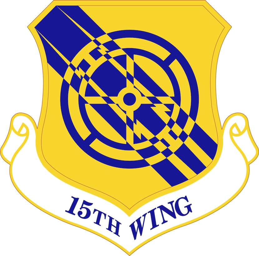 The 15th Wing shield