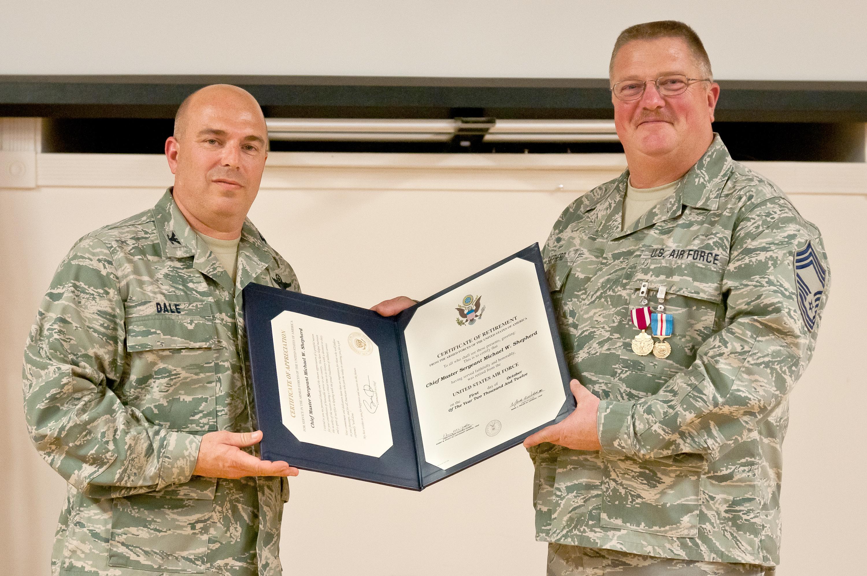 Shepherd retires from aircraft maintenance, ending 32-year career of