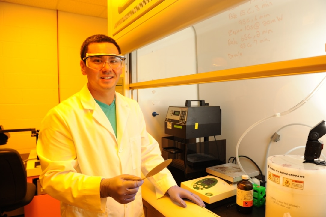 CERL researchers understand that sample analysis is crucial to refining experimental operating conditions.