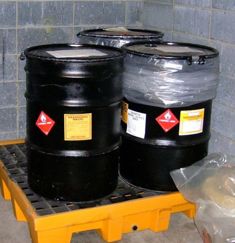 Proper hazardous waste management is a key component of the ESOH Compliance Tools program.