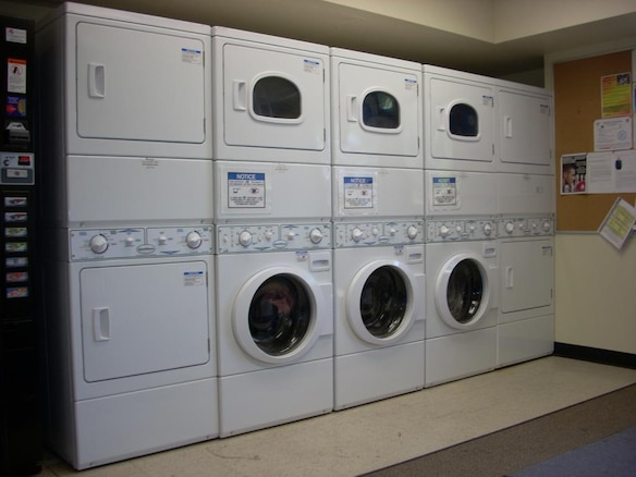NPS Building 83 Laundry Room