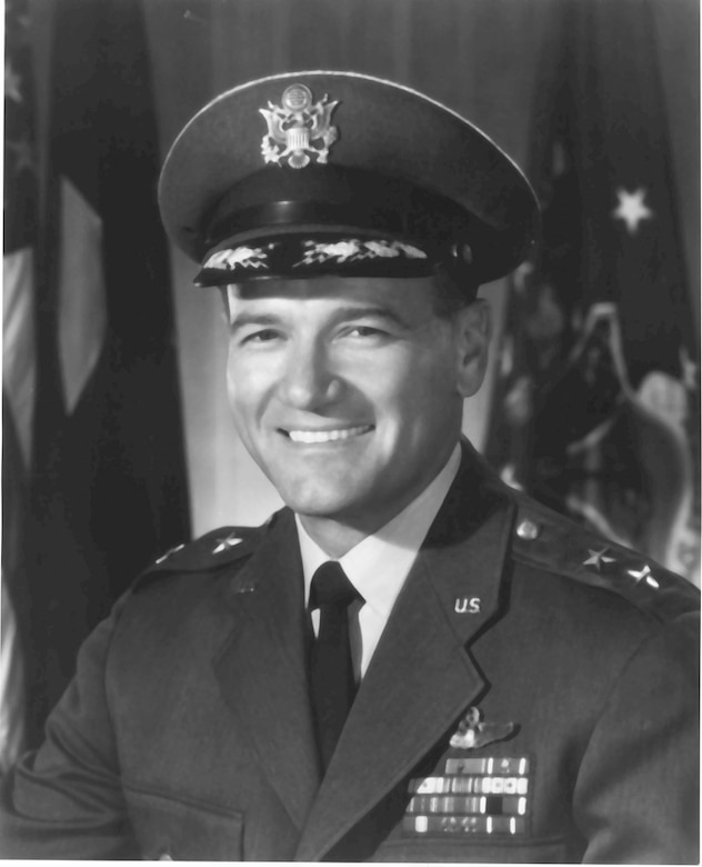 Retired Maj. Gen. Ben Funk's last official Air Force photo.