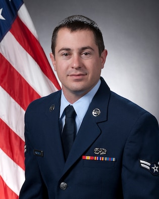 Airman 1st Class Chris Carpenter, from the 162nd Maintenance Group, is the 162nd Fighter Wing Airman of the Quarter for October-December 2011. (U.S. Air Force photo/Master Sgt. Dave Neve)