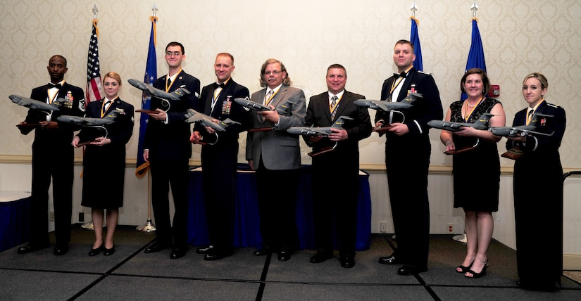 The 437th Airlift Wing Annual Awards Banquet was held Feb. 2 at the Charleston Club. The winners