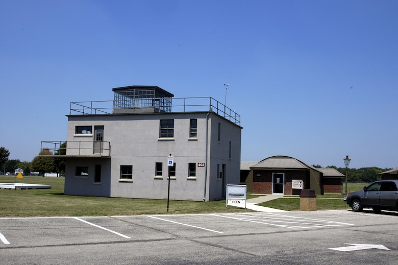 DAYTON, Ohio -- The 8th Air Force Control Tower is located on the grounds of the National Museum of the United States Air Force. (U.S. Air Force photo)