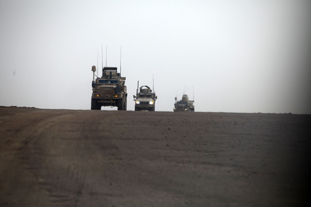 """The """"Magnificent Bastards"""" of 2nd Battalion, 4th Marines patrol the region. During their deployment to Afghanistan 2/4 has been busy with reconstruction operations and the training of Afghan National Forces. Their main efforts have been reconstruction and creating a security bubble from which the Afghan National Security Forces can operate independently."""