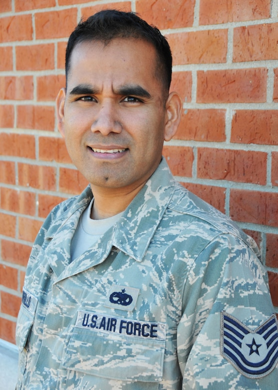 Tech. Sgt. David Carrillo was selected as the Non-Commissioned Officer of the Year for the 906 ARS. Tech. Sgt. Carrillo is an electro-environmental systems craftsman with the 906th and received this award in part for identifying an emergency situation and taking appropriate action saving nearly $40 million in potential damage. Tech. Sgt. Carrillo also has been involved with frequent deployments offering experience beyond his years and supports his local community through various volunteer efforts. (U.S. Air Force photo by Master Sgt. Ken Stephens)