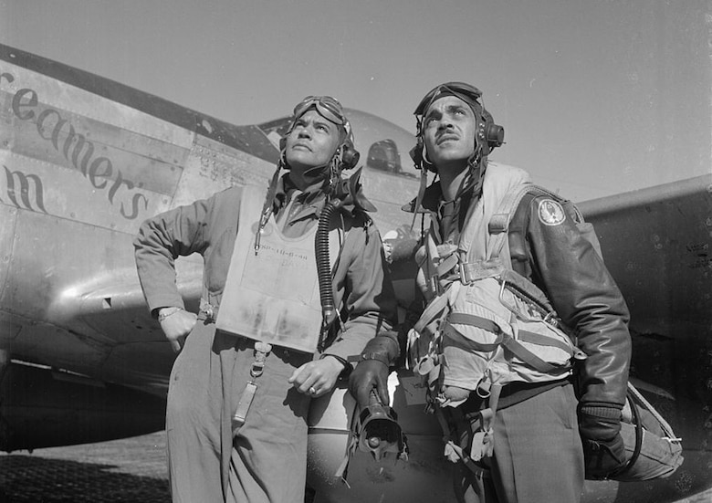 "Benjamin O. Davis Jr.: Commanded ""Red Tails,"" an all-black combat flying squadron during World War II."