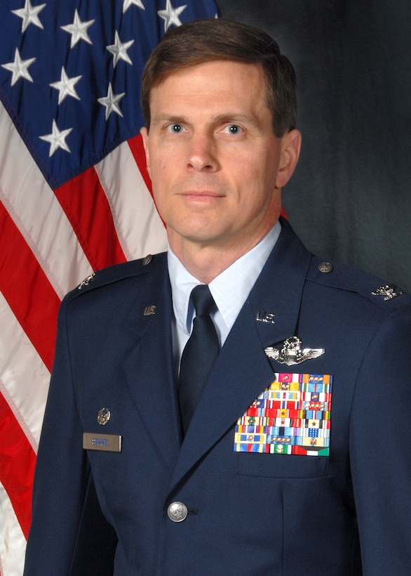 New York Air National Guard Col. Greg A. Semmel, a member of the 174th Fighter Wing since 2000, has been named the new commander of the 174th Fighter Wing. Semmel takes command of the wing from Col. Kevin W. Bradley on March 4, 2012. Semmel has served as the Assistant Vice Commander of the 174th Fighter Wing since March 2011. Among other assignments, Semmel previously served as the Operations Group Commander for the 174th Fighter Wing, as well as an operational test/evaluation pilot at Eglin Air Force Base, Florida and an instructor at the U.S. Air Force Fighter Weapons School at Nellis Air Force Base, Nevada. (Photo by Tech. Sgt. Jeremy Call/Released)
