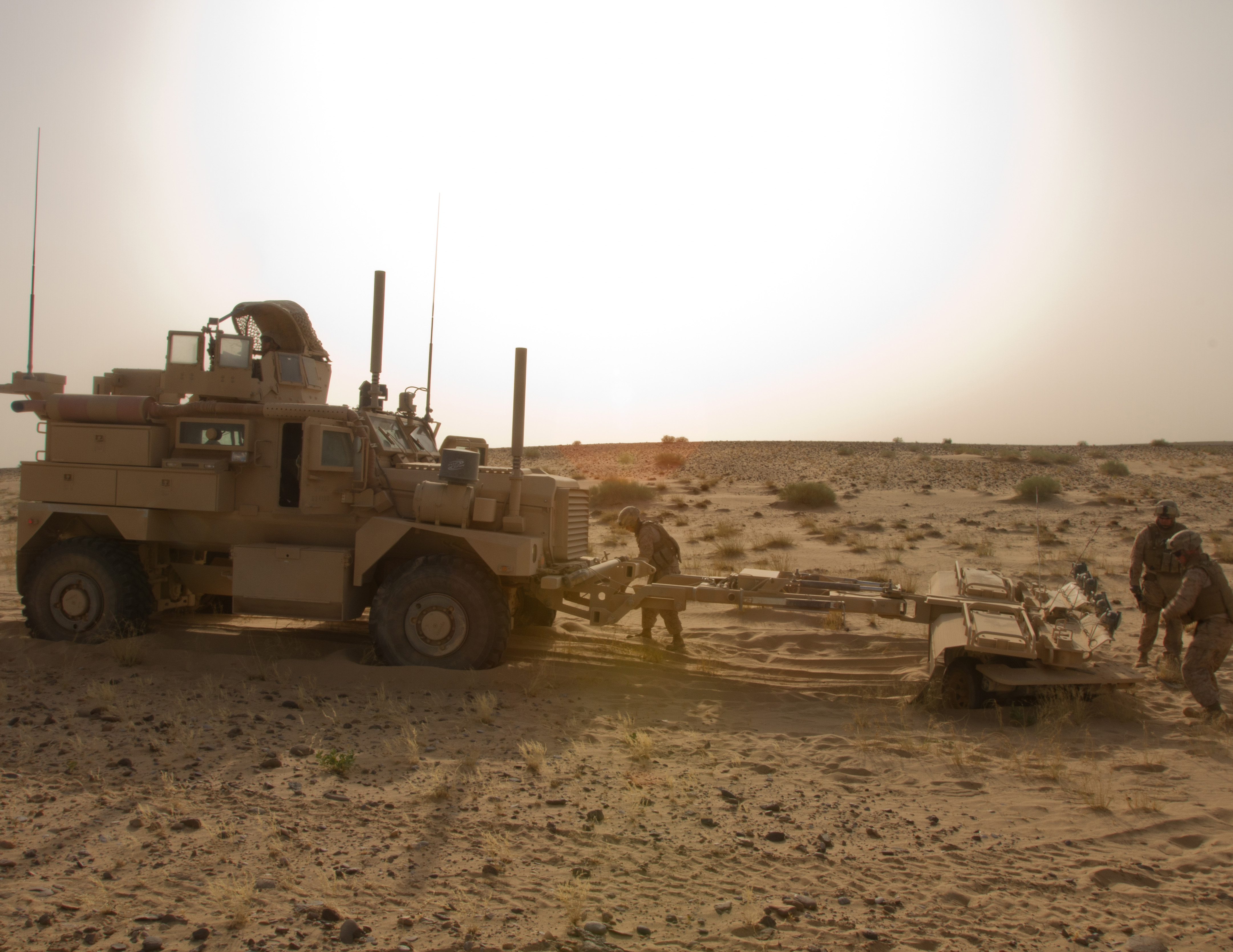 Motor Transport Platoon Provides Lifeline In Afghanistan