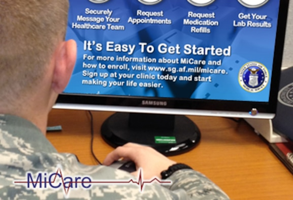 With MiCare, AFMS patients can easily request and provide information at any time.  MiCare provides a secure patient portal to ensure easy and private online communications in order to connect beneficiaries to their health care team.