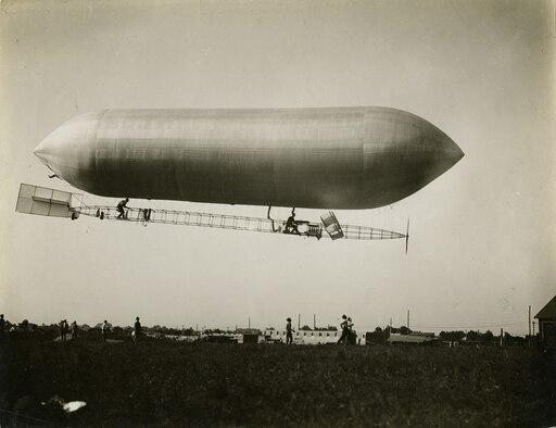 Baldwin Dirigible. (U.S. Air Force photo)