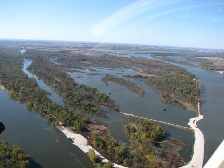 Calhoun Point, located at the confluence of the Mississippi and Illinois rivers provides serves as a resource for the community and animals.