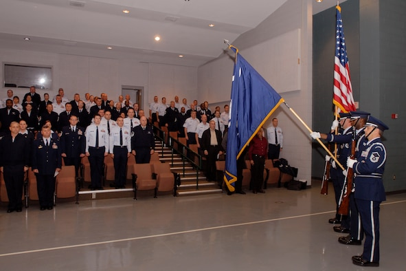 Honor Guard.  Members of the 169th Fighter Wing and the South Carolina Air National Guard, from McEntire Joint National Guard Base, conducts its first Top 3 Conference in six years.  The focus of this conference was the mentoring of airmen and their professional development.  Instructors from the Paul H. Lankford Enlisted Professional Military Education Center at McGhee Tyson Air National Guard Base conducted courses of instruction to the more than 120 senior NCOs in attendace of this three-day conference.  The conference was held at the nearby SC National Guard's McGrady Training Center to minimize travel and conference costs while still maintaining an off-site focus.  