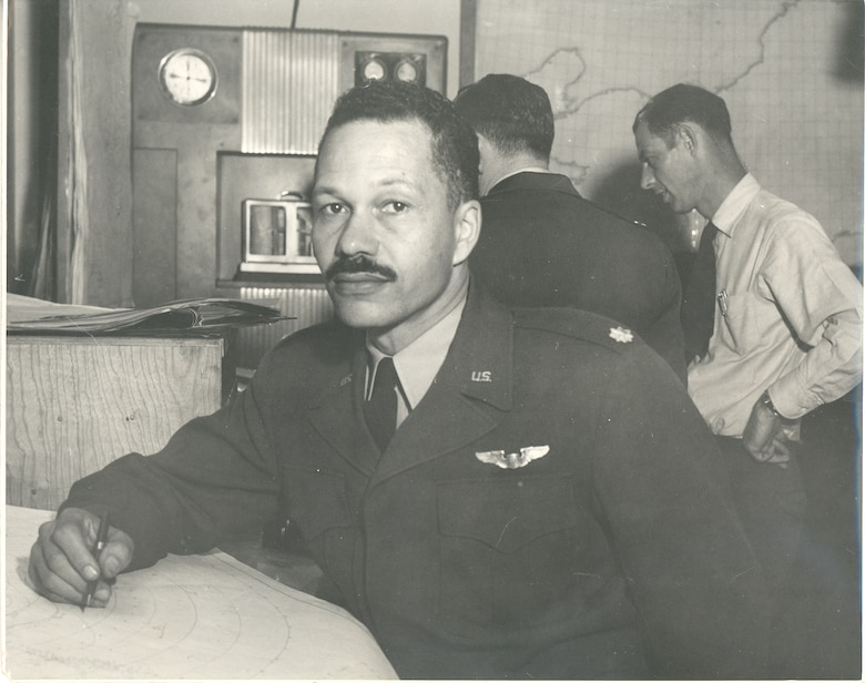 Archie Williams went on to become a weather officer in the Air Force