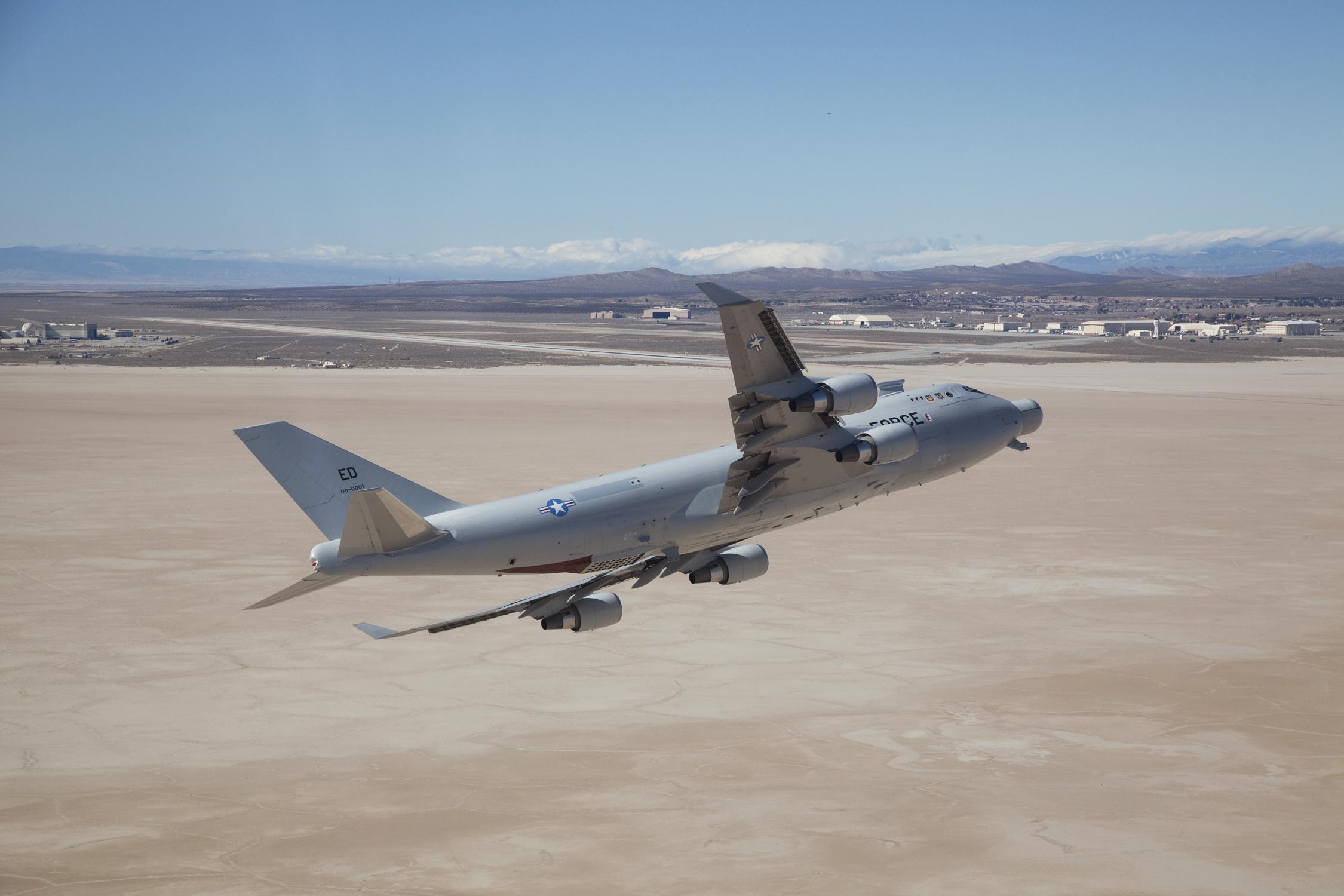 Airborne Laser Test Bed Bids Adieu To Edwards Afb Gt U S