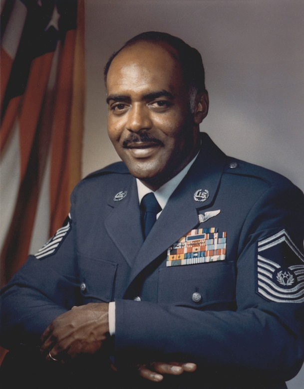 CMSAF Thomas Barnes, first African-American to hold top Air Force enlisted position