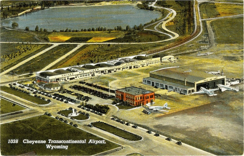 1038 - Cheyenne Transcontinental Airport, Wyoming (Image courtesty of Wyoming State Archives)