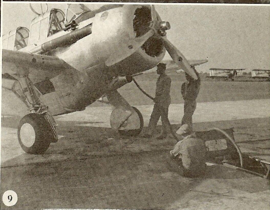 Preparing the Plane